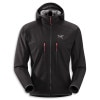 Arcteryx Acto MX Fleece Hooded Jacket - Mens Black, M - HASH(0x2727d088)
