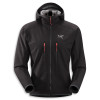 Arcteryx Acto MX Fleece Hooded Jacket - Mens Black, XL - HASH(0x2727d088)