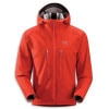 Arcteryx Acto MX Fleece Hooded Jacket - Mens Cardinal, L - HASH(0x2727d088)