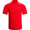 Arc'teryx Accelerator Zip-Neck Shirt - Short-Sleeve - Men's