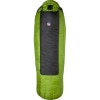 Big Agnes Mystic SL Sleeping Bag: 15 Degree Down Black/Green, Long/Right Zip