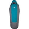 Big Agnes Roxy Ann Sleeping Bag: 15 Degree Down - Women's Teal/Grey, Reg/Left Zip