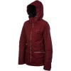 Betty Rides All Mountain Widow Jacket - Womens Scarlet, S - Betty Rides All Mountain Widow Jacket - Women's Sc