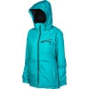 Betty Rides Wildcat Girls Choice Jacket - Womens Teal, L - Betty Rides Wildcat Girl's Choice Jacket - Women's
