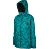 Betty Rides Wildcat Girls Choice Jacket - Womens Teal Wildcat, L - Betty Rides Wildcat Girl's Choice Jacket - Women's