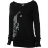 Betty Rides She Wolf Pullover Sweatshirt - Women's