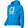 Burton Logo Fill Palette Stripes Basic Full-Zip Hoodie - Girls'