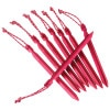 MSR Groundhog Tent Stake Kit Red, One Size - MSR Groundhog Tent Stake Kit Red, One Size,Hiking & Camping Gear > Tents > Tent Accessories,MSR,06619,Red, One Size
