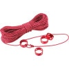 MSR Ultralight Utility Cord Kit Red, One Size - MSR Ultralight Utility Cord Kit Red, One Size,Hiking & Camping Gear > Tents > Tent Accessories,MSR,06615,Red, One Size
