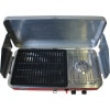 Camp Chef Rainier Camper Griddle/Grill/Stove Combo Above, Open