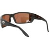 Costa Permit Polarized Sunglasses - 580 Polycarbonate Lens Through the lens