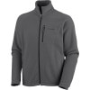Columbia Fast Trek II Full-Zip Fleece Jacket - Mens Grill, L - Columbia Fast Trek II Full-Zip Fleece Jacket - Men