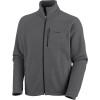Columbia Fast Trek II Full-Zip Fleece Jacket - Mens Grill, S - Columbia Fast Trek II Full-Zip Fleece Jacket - Men