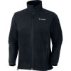 Columbia Steens Mountain Tech Full-Zip Fleece Jacket - Mens Black, M - Columbia Steens Mountain Tech Full-Zip Fleece Jack