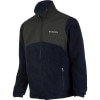 Columbia Steens Mountain Tech Full-Zip Fleece Jacket-Mens Navy, L - Columbia Steens Mountain Tech Full-Zip Fleece Jack