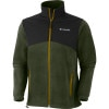 Columbia Steens Mountain Tech Full-Zip Fleece Jacket-Mens Surplus Green, S - Columbia Steens Mountain Tech Full-Zip Fleece Jack