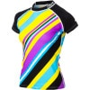 DAKINE Body Stripe Cap Sleeve Rashguard - Women