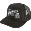 Discrete Moto Trucker Hat
