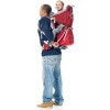 Deuter Kid Comfort II Carrier  On Parent