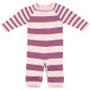 Egg Striped Knit Layette - Infant Girls'