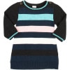 Egg Knit Striped Dress - Infant Girls'