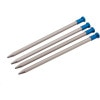 Easton Mountain Products Nano Tent Stakes - 4-Pack Blue, 8in - HASH(0xa927f948)