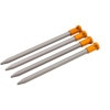 Easton Mountain Products Nano Tent Stakes - 4-Pack Orange, 6in - HASH(0xa927f948)