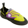 Evolv Venga Climbing Shoe - Kids' Lime Green/Purple, 12.0