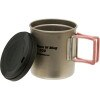 Evernew Ti Mug Double Wall with Lid