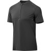 photo: GoLite Men's Wildwood Trail Shortsleeve 1/4-Zip Run Top