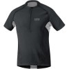 Gore Running Wear X-Running Zip-Neck Shirt - Short-Sleeve - Men's