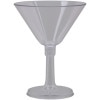 GSI Lexan Resin Martini Glass