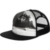 Hippy Tree Photo Snapback Trucker Hat