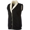 Hemp Hoodlamb Furry Vest - Women's
