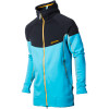 Houdini Stand Tall Houdi Jacket - Mens Zip Cosmos/Atoll W/ Old Gold Zip, L - Houdini Stand Tall Houdi Jacket - Men's Zip Cosmos