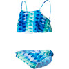 Hurley Looking Glass Crop Top & Retro with Ties Swimsuit - Girls'