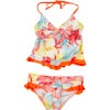 Hurley Sea Fire Tankini & Retro Swimsuit - Girls'