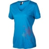 Ibex Lotus Print T-Shirt - Short-Sleeve - Women's