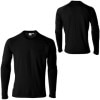 Icebreaker BodyFit 260 Crew - Long-Sleeve - Men's Black, M