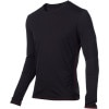 Icebreaker BodyFit 150 Crew - Long-Sleeve - Men's Carbon, XL
