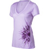 Icebreaker Tech V-Neck Chrysanthemum Shirt - Short-Sleeve - Women's