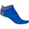 injinji Run Lightweight Coolmax No-Show Toe Sock Mariner Blue, S
