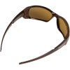 Julbo Montebianco Sunglasses - Camel Antifog Polarized/Photochromic Lens Through the lens