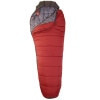 Kelty Mistral Sleeping Bag: 20 Degree CloudLoft Blood Red, Extra Long/Right Zip