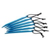 Kelty J-Stake - 6-Pack One Color, One Size - Kelty J-Stake - 6-Pack One Color, One Size,Hiking & Camping Gear > Tents > Tent Accessories,Kelty,40915004,Blue, One Size