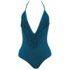 L Space Fringe Benefits Stardust One-Piece Swim Suit - Women's