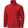 Marmot Radiator Fleece Jacket - Mens Team Red, M - fleece jackets,mens fleeces,200 weight fleeces,heavyweight fleece jackets