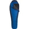 Marmot Sawtooth Membrane Sleeping Bag: 15 Degree Down Electric/Tempest, Reg/Right Zip