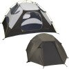 Marmot Limelight 4-Person Tent w/ Footprint and Gear Loft Hatch/Dark Cedar, 4
