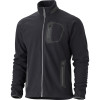 Marmot Alpinist Tech Fleece Jacket - Mens Black/Dark Granite, L - HASH(0xe76314b0)